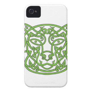 Bear Celtic Knot iPhone 4 Cover