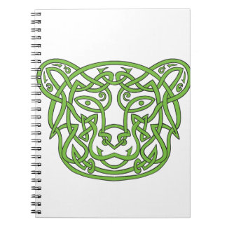 Bear Celtic Knot Notebooks