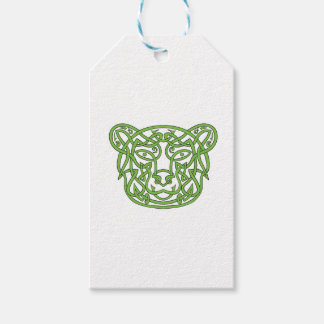 Bear Celtic Knot Pack Of Gift Tags