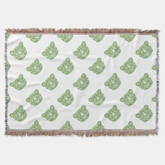 Bear Celtic Knot Throw Blanket