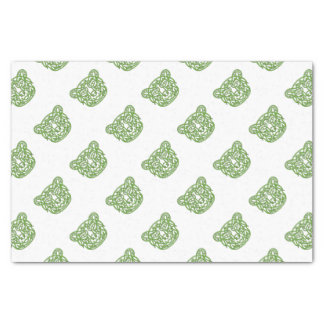 Bear Celtic Knot Tissue Paper