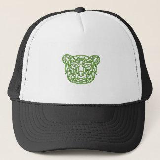 Bear Celtic Knot Trucker Hat