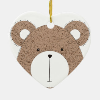Bear Ceramic Ornament