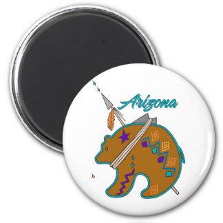 Bear Clan Arrow 2 Inch Round Magnet