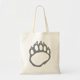 Bear claw tote bag
