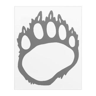 bear claw wall art