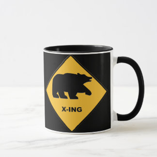 Bear Crossing Mug
