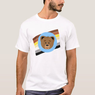 Bear Cub and Flag T-Shirt