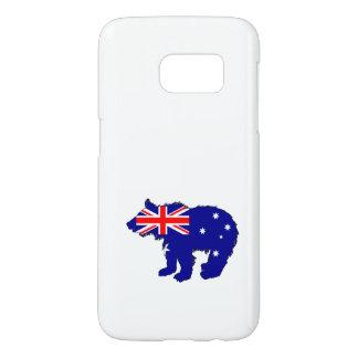 """Bear Cub """"Australia"""" Samsung Galaxy S7 Case"""