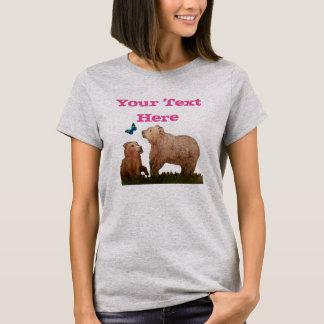 Bear Cub Butterfly T-Shirt