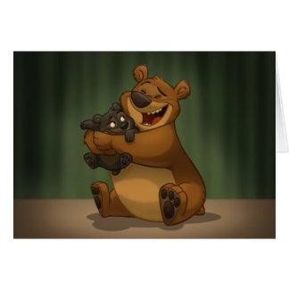 Bear & Cub Card (Blank Inside)