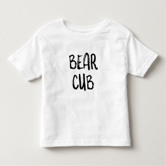 'Bear Cub' Toddler Shirt