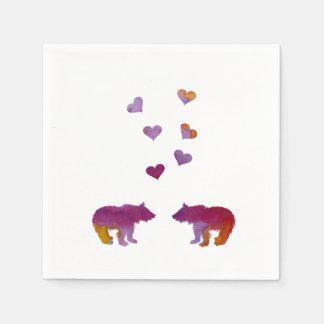 Bear Cubs Disposable Napkin