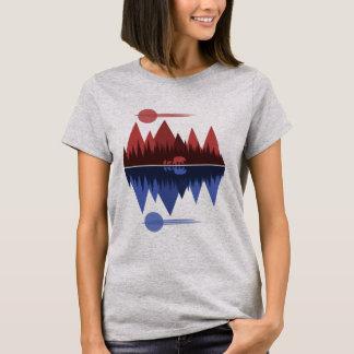 Bear & Cubs (Red/Blue) T-Shirt