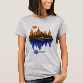 Bear & Cubs (Sepia/Blue) T-Shirt