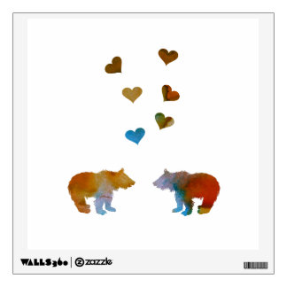 Bear Cubs Wall Decal