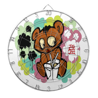 Bear cute baby cartoon chinese dartboard