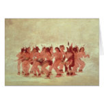 Bear Dance Greeting Card