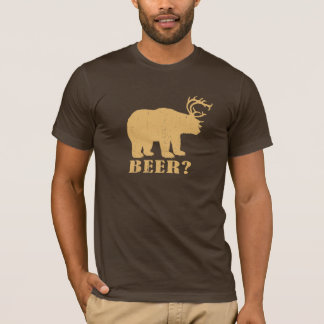 Bear Deer = Beer? Drunk Redneck Tee
