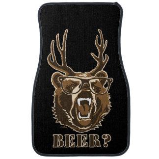 Bear, Deer or Beer Car Mat