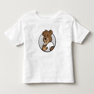 Bear detective Monty Fine Jersey T-Shirt