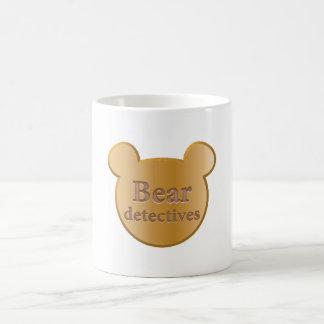 Bear detectives logo classic White Mug
