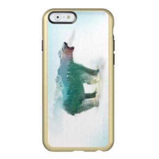 Bear double exposure - polar bear - bear art incipio feather® shine iPhone 6 case