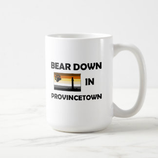 Bear Down In Provincetown Coffee Mug