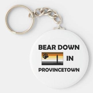 Bear Down In Provincetown Keychain