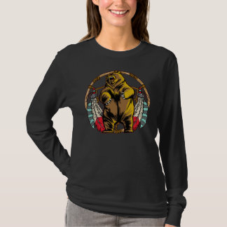 Bear Dream Catcher T-Shirt