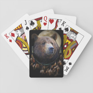 Bear Dreamcatch Playing Cards