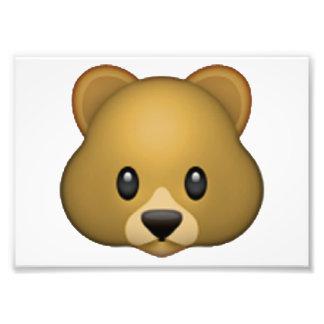 Bear - Emoji Art Photo