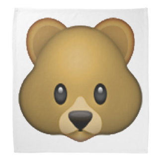 Bear - Emoji Bandana