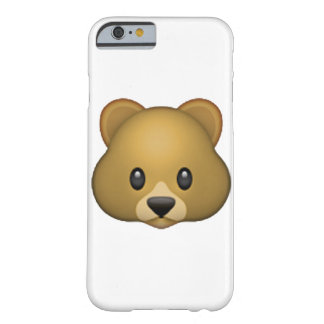 Bear - Emoji Barely There iPhone 6 Case