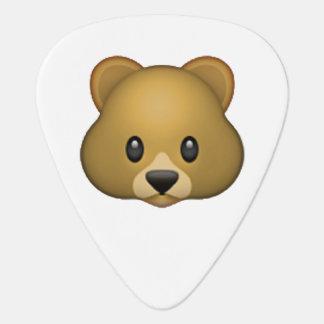 Bear - Emoji Guitar Pick
