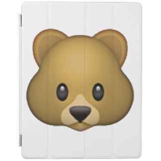 Bear - Emoji iPad Cover