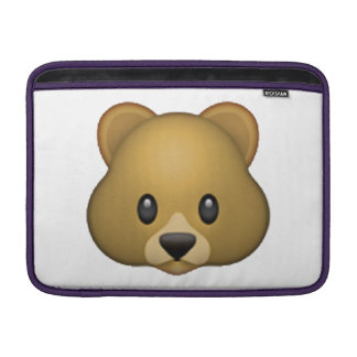 Bear - Emoji MacBook Sleeve