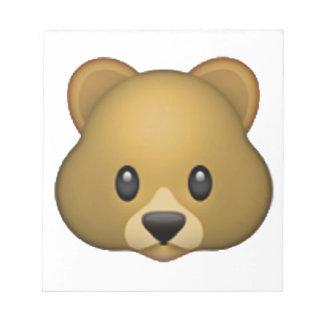 Bear - Emoji Notepad