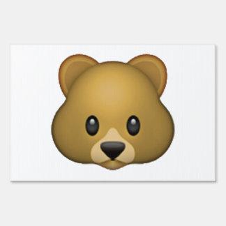 Bear - Emoji Sign