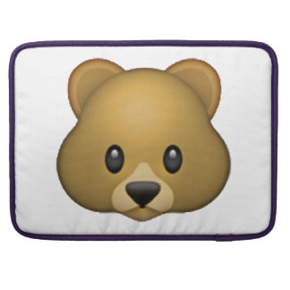 Bear - Emoji Sleeve For MacBooks