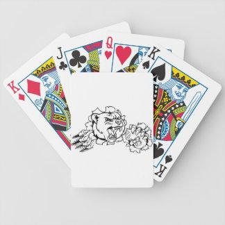 Bear Esports Mascot Bicycle Playing Cards