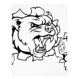 Bear Esports Mascot Letterhead