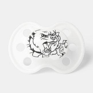 Bear Esports Mascot Pacifier