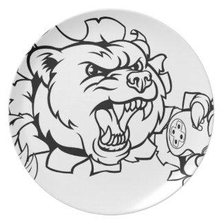 Bear Esports Mascot Plate