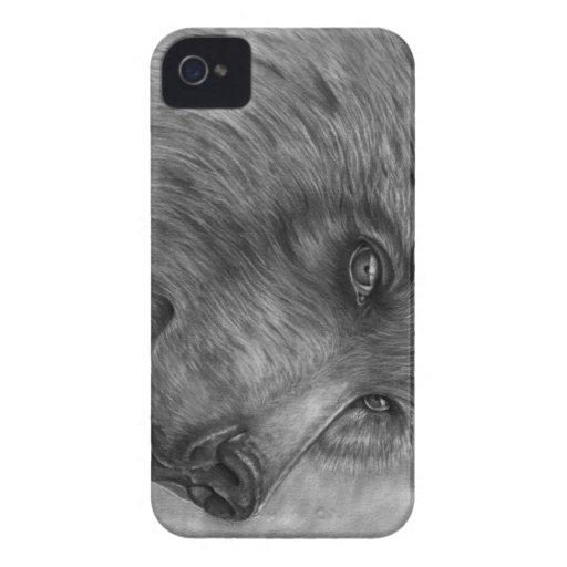 Bear Face Case-Mate Blackberry Bold 9700/9780 Case Blackberry Bold Cover