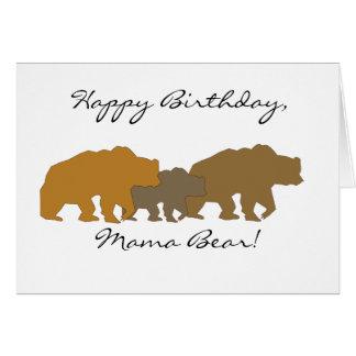 Bear Family Greeting Card
