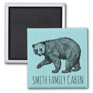 Bear Family Name Magnet