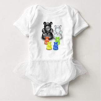 Bear Family Set Baby Bodysuit