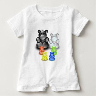 Bear Family Set Baby Romper