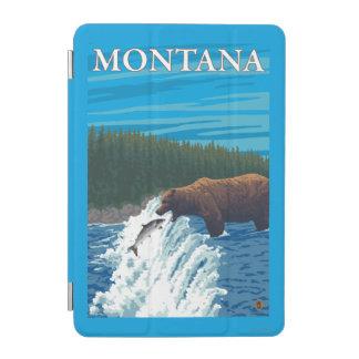 Bear Fishing in River - Montana iPad Mini Cover